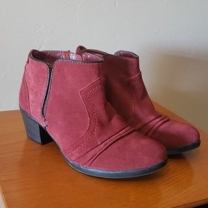 Earth Origins Suede Ankle Boots